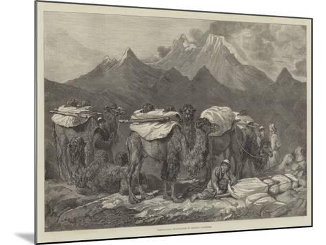 Transporting Merchandise in Eastern Turkestan-Guillaume Regamey-Mounted Giclee Print