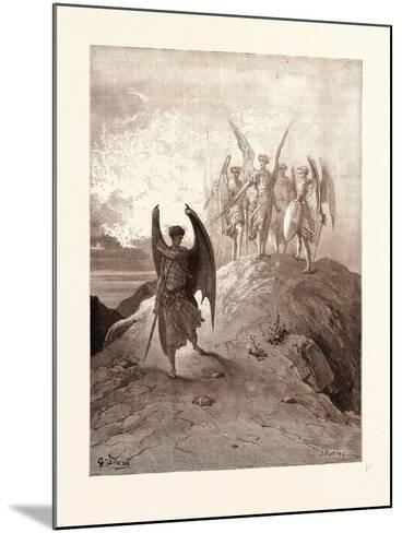 Satan Vanquished-Gustave Dore-Mounted Giclee Print