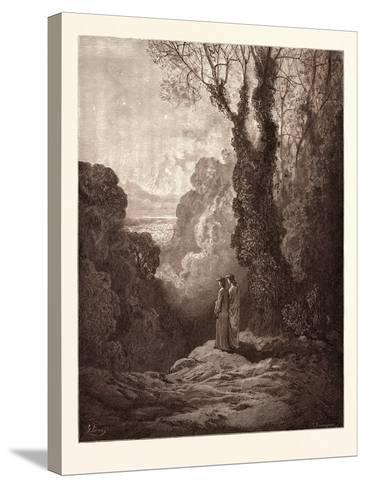 The Threshold of Purgatory-Gustave Dore-Stretched Canvas Print