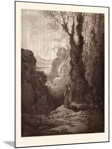The Threshold of Purgatory-Gustave Dore-Mounted Giclee Print