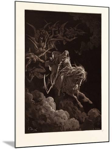The Vision of Death-Gustave Dore-Mounted Giclee Print