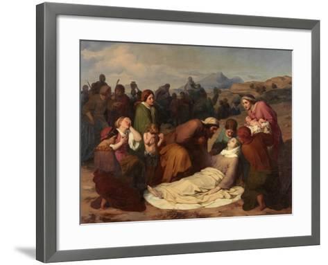 Death of Rachel, 1847-Gustave Metz-Framed Art Print