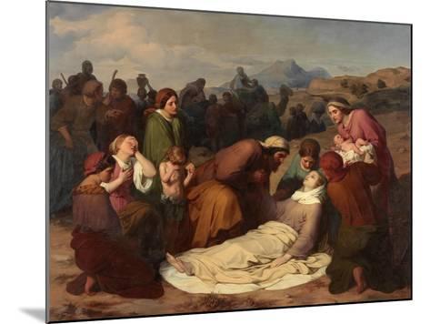 Death of Rachel, 1847-Gustave Metz-Mounted Giclee Print