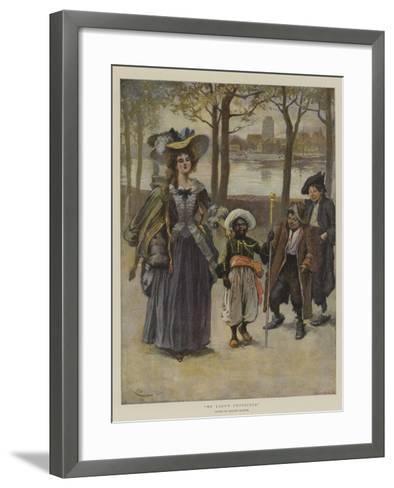 My Lady's Protector-Gordon Frederick Browne-Framed Art Print