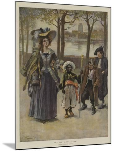 My Lady's Protector-Gordon Frederick Browne-Mounted Giclee Print
