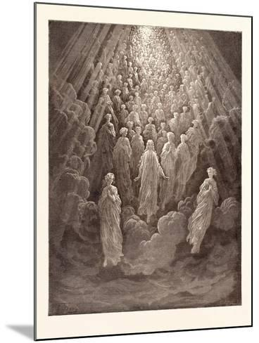 The Angels in the Planet Mercury-Gustave Dore-Mounted Giclee Print