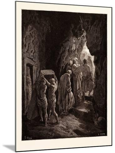The Burial of Sarah-Gustave Dore-Mounted Giclee Print