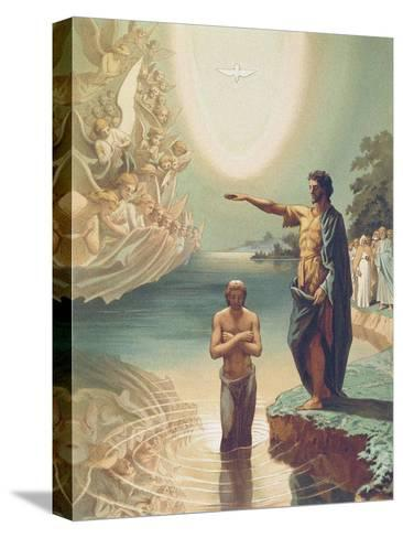 The Baptism of Christ, C.1860-Grigori Grigorevich Gagarin-Stretched Canvas Print