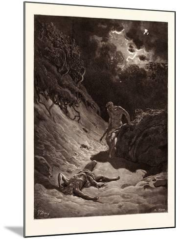 The Death of Abel-Gustave Dore-Mounted Giclee Print