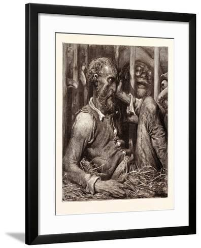 The Enchantment of Don Quixote-Gustave Dore-Framed Art Print