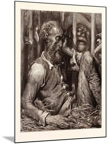 The Enchantment of Don Quixote-Gustave Dore-Mounted Giclee Print