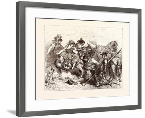 The Don Deceived-Gustave Dore-Framed Art Print