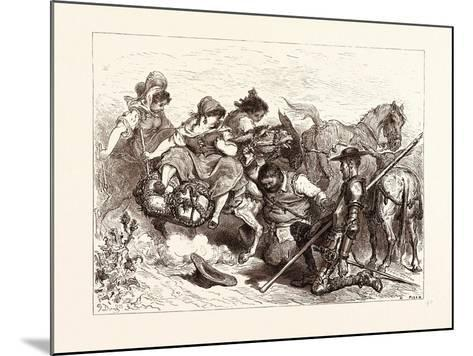 The Don Deceived-Gustave Dore-Mounted Giclee Print