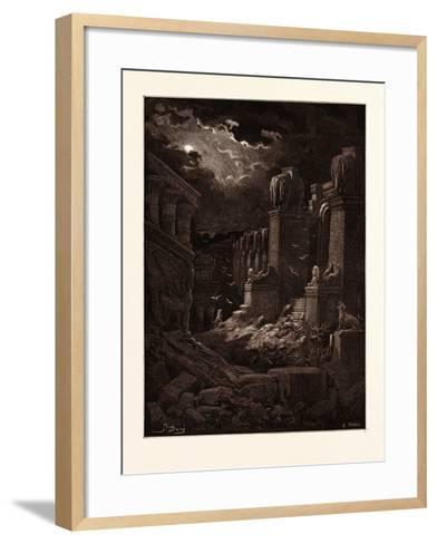 Babylon Fallen-Gustave Dore-Framed Art Print