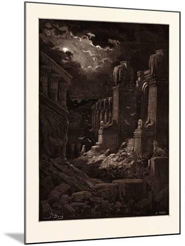 Babylon Fallen-Gustave Dore-Mounted Giclee Print