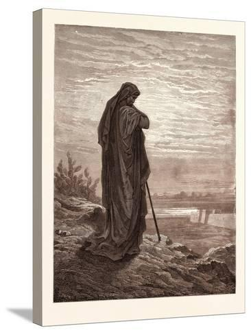 Amos the Prophet-Gustave Dore-Stretched Canvas Print