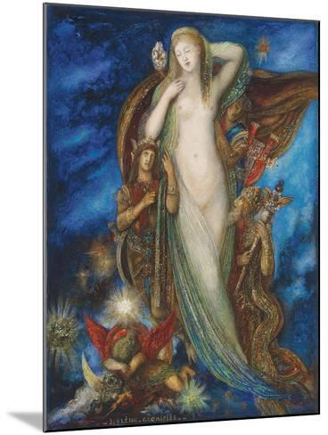 Helen Glorified, 1896-Gustave Moreau-Mounted Giclee Print