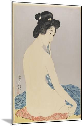 Woman after Bath, July 1920-Goyo Hashiguchi-Mounted Giclee Print
