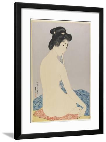 Woman after Bath, July 1920-Goyo Hashiguchi-Framed Art Print
