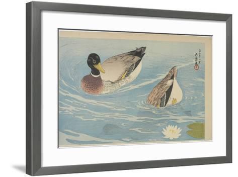 Ducks, August 1920-Goyo Hashiguchi-Framed Art Print