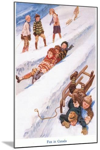 Fun in Canada-Gordon Frederick Browne-Mounted Giclee Print