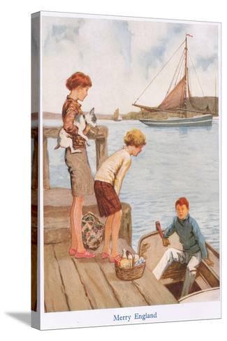 Merry England-Gordon Frederick Browne-Stretched Canvas Print