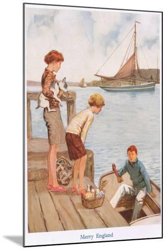 Merry England-Gordon Frederick Browne-Mounted Giclee Print