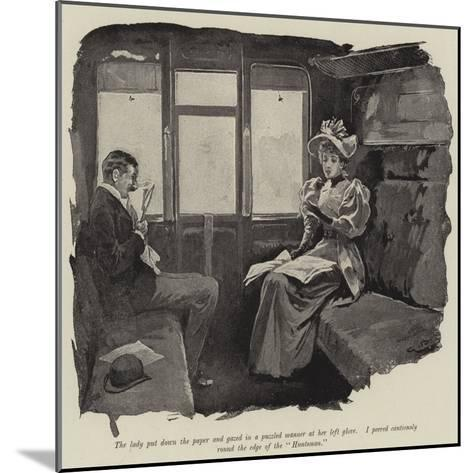 Illustration for Just a Short Story-Gordon Frederick Browne-Mounted Giclee Print