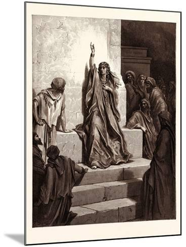 Deborah-Gustave Dore-Mounted Giclee Print