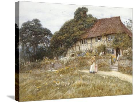 At Stedham Near Midhurst-Helen Allingham-Stretched Canvas Print