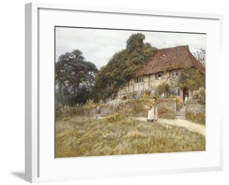 At Stedham Near Midhurst-Helen Allingham-Framed Art Print