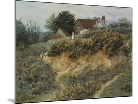 At Sandhills, Witley-Helen Allingham-Mounted Giclee Print