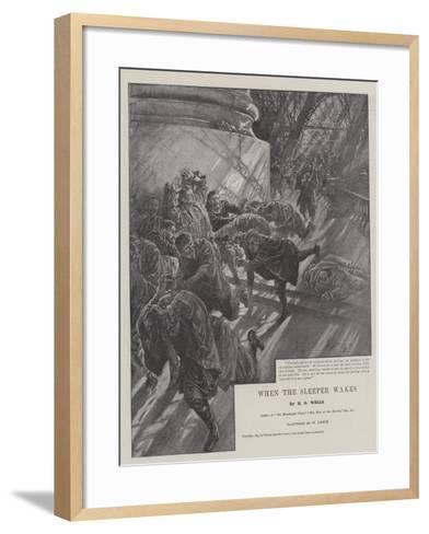 When the Sleeper Wakes-Henri Lanos-Framed Art Print