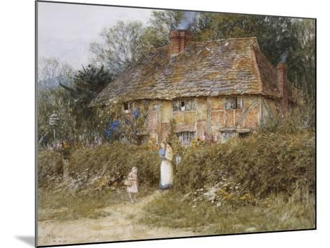 Old Surrey Cottage-Helen Allingham-Mounted Giclee Print