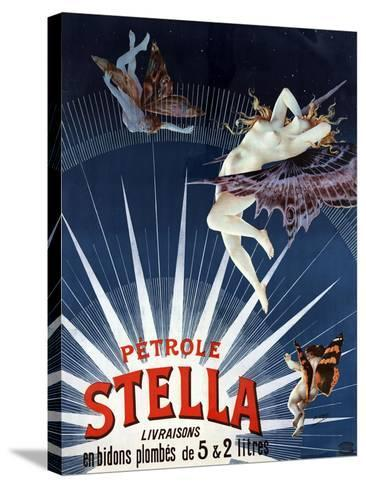 Vintage Petrole Stella Poster, 1897-Henri Gray-Stretched Canvas Print