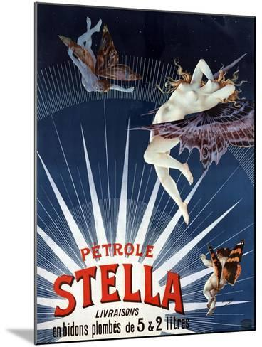 Vintage Petrole Stella Poster, 1897-Henri Gray-Mounted Giclee Print