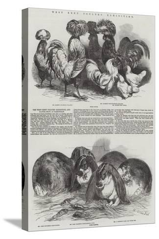 West Kent Poultry Exhibition-Harrison William Weir-Stretched Canvas Print