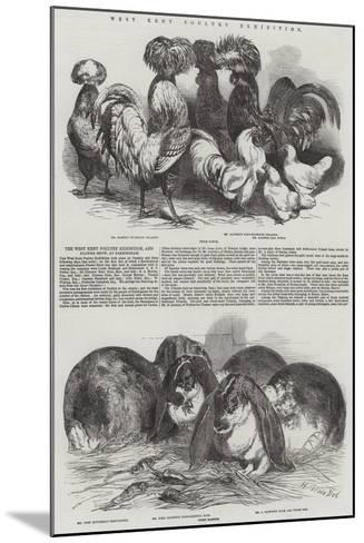 West Kent Poultry Exhibition-Harrison William Weir-Mounted Giclee Print