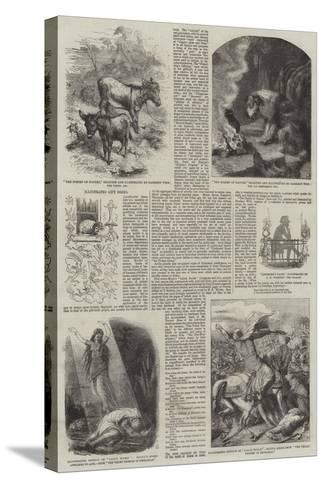 Illustrated Gift Books-Harrison William Weir-Stretched Canvas Print