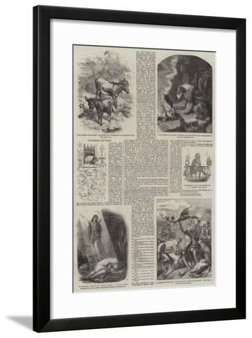 Illustrated Gift Books-Harrison William Weir-Framed Art Print