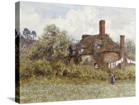 In the Spring-Helen Allingham-Stretched Canvas Print