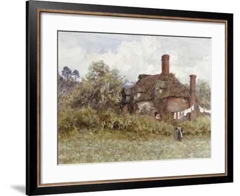 In the Spring-Helen Allingham-Framed Art Print