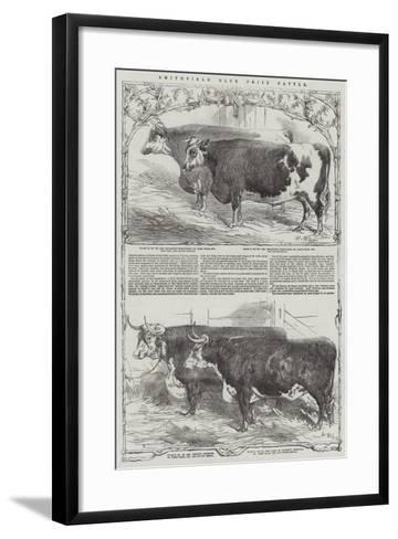 Smithfield Club Prize Cattle-Harrison William Weir-Framed Art Print
