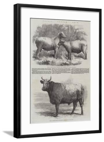 Poissy Cattle Show-Harrison William Weir-Framed Art Print