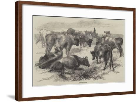 Breton Cattle-Harrison William Weir-Framed Art Print