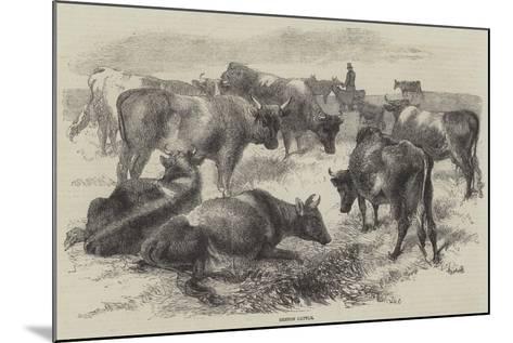 Breton Cattle-Harrison William Weir-Mounted Giclee Print