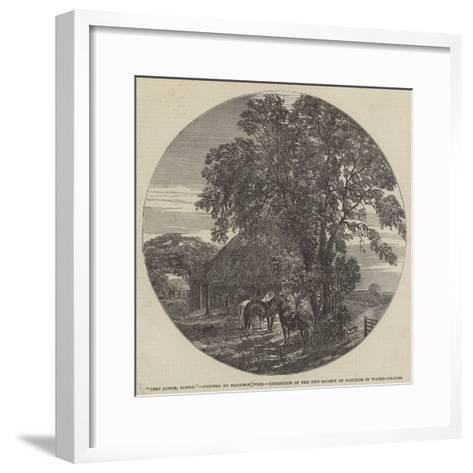Cart Lodge, Sussex-Harrison William Weir-Framed Art Print