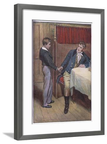 I'Ll Try Father-Harold Copping-Framed Art Print