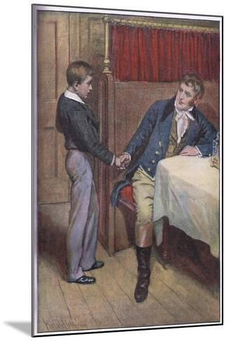 I'Ll Try Father-Harold Copping-Mounted Giclee Print