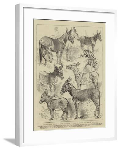 The Donkey Show at the Crystal Palace, Some of the Prize Winners-Harrison William Weir-Framed Art Print